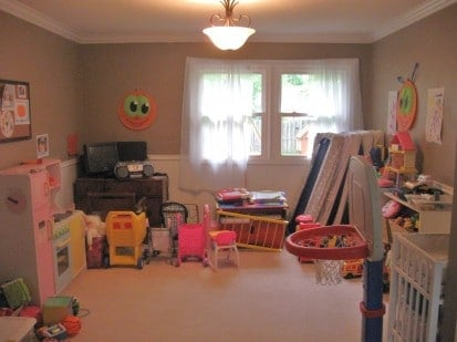 Before: Playroom