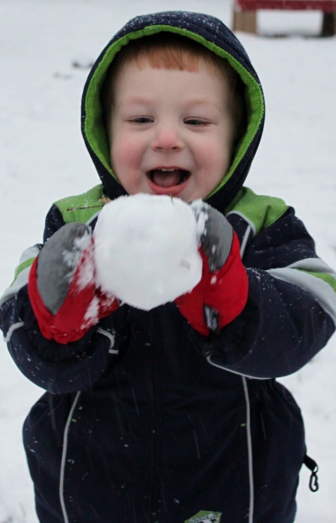 Just What Did He Do With That Snowball?