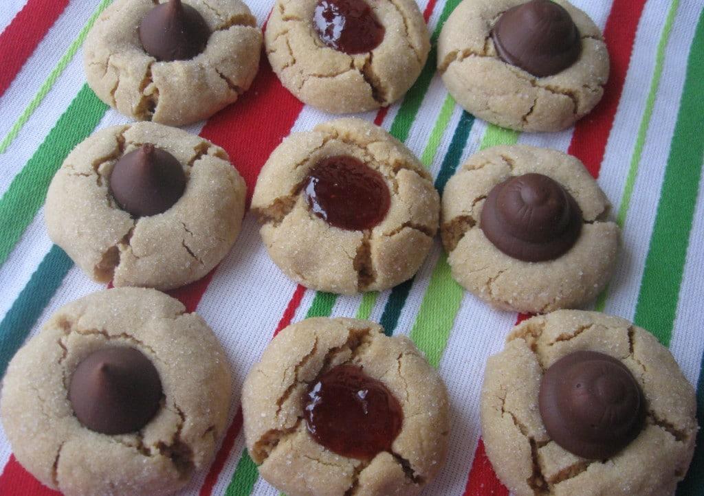 Peanut Butter Cookies 3 Ways
