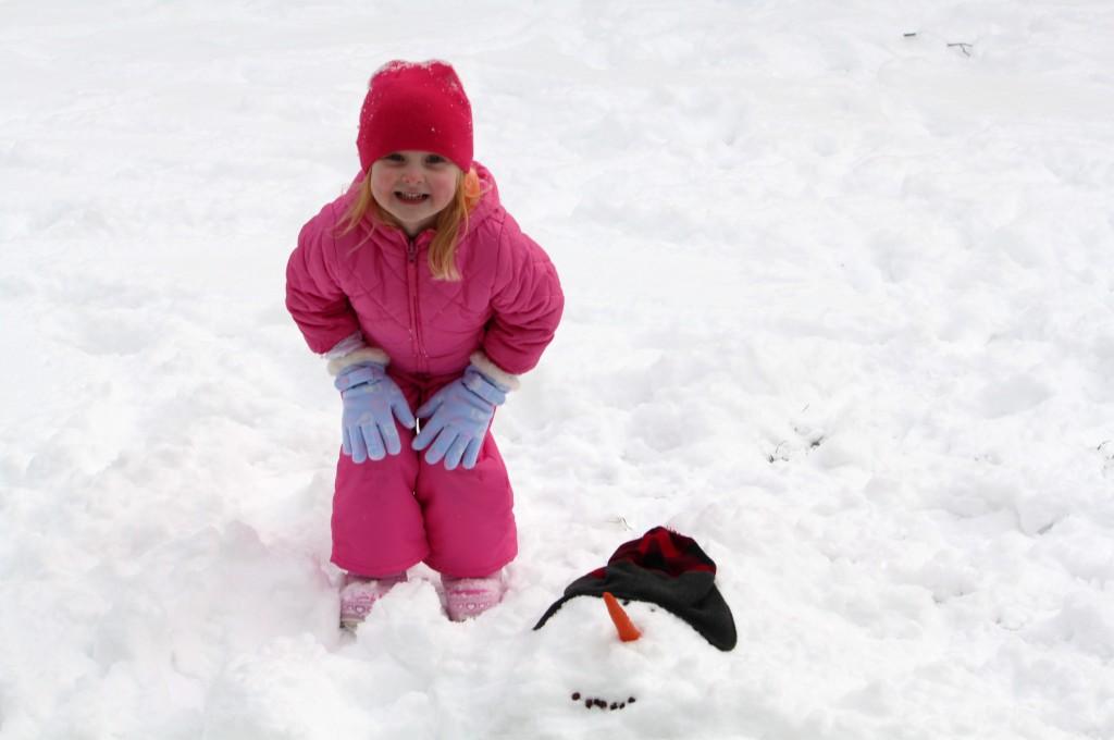 Wordless Wednesday – Poor Snowman