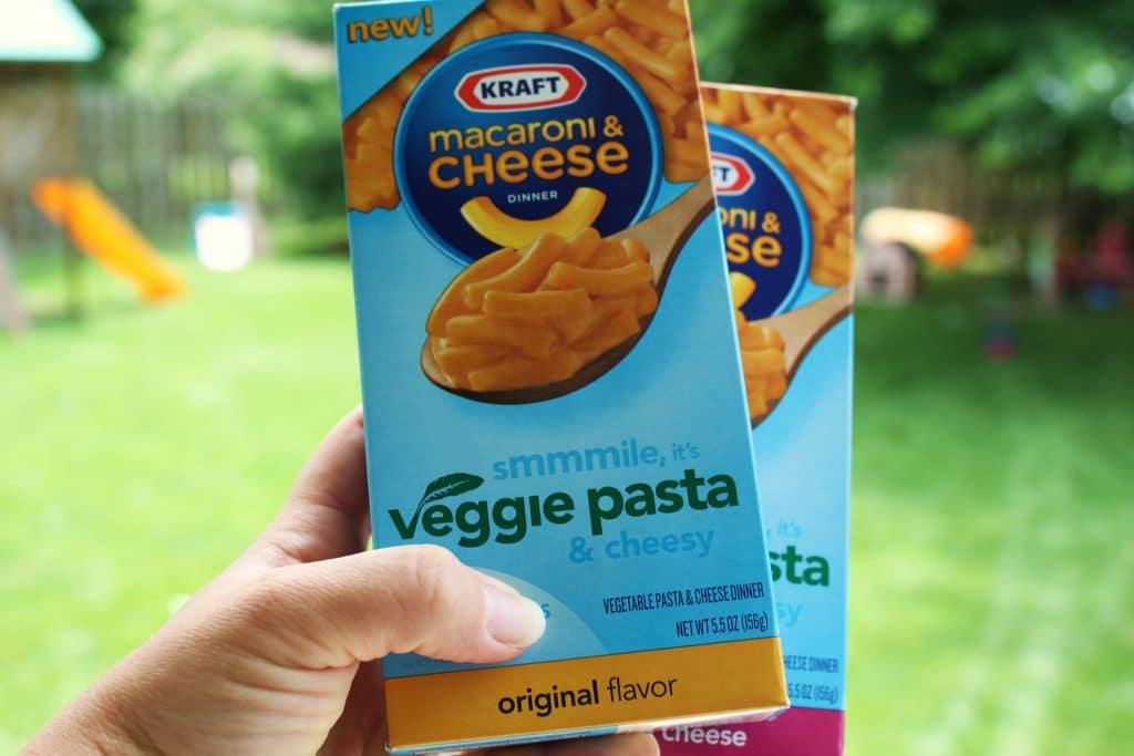 KRAFT Macaroni & Cheese Veggie Pasta Dinner {Giveaway}