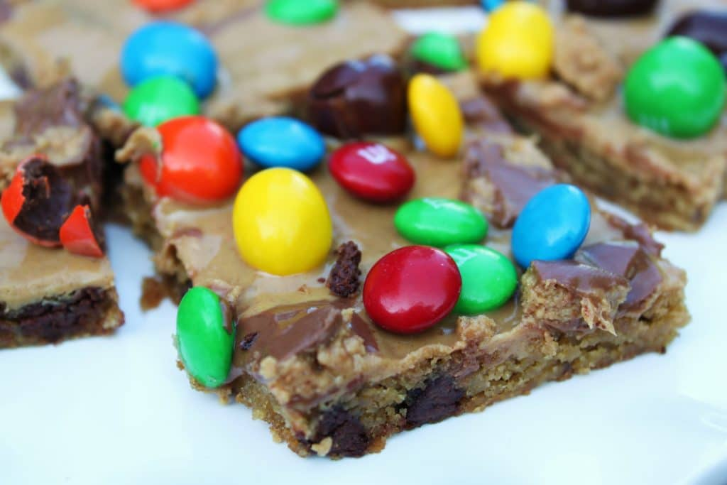 candy cookie bar