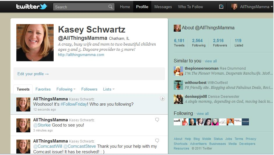 #FollowFriday Twitter Link-Up