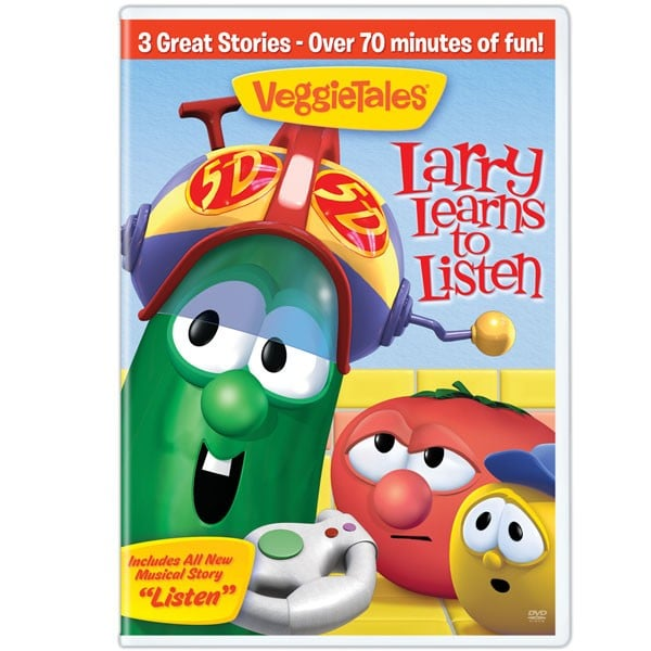 VeggieTales – 2 All NEW Family-Builders DVDs {Giveaway}