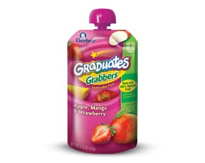 Gerber Graduates Grabbers – Great for kids on the go!