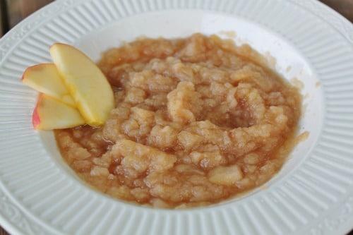 Crock Pot Applesauce Recipe - All Things Mamma