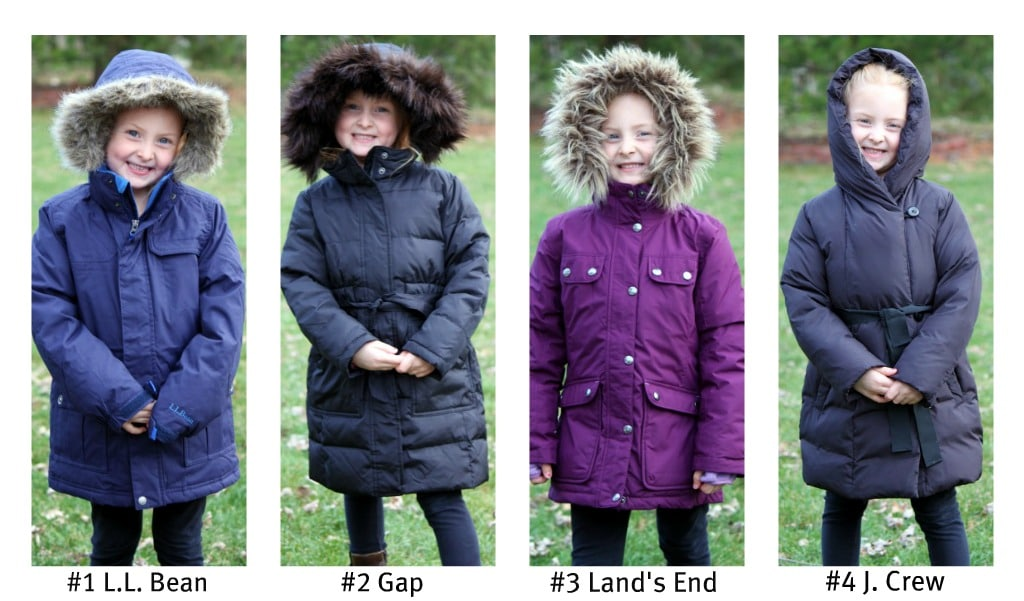 cba17ab576ea Winter Coat Challenge  4 Name Brands - Which one wins best quality ...