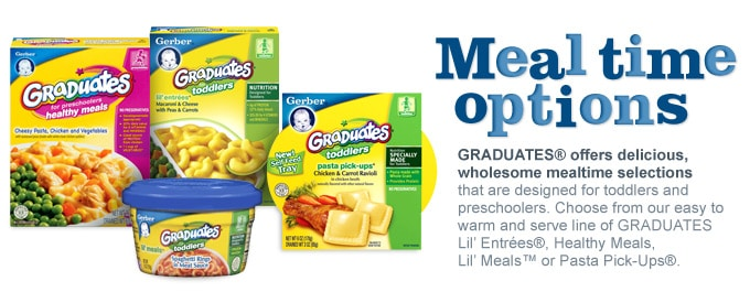 Gerber Graduates Lil' Entrees – A perfect meal for your little one!