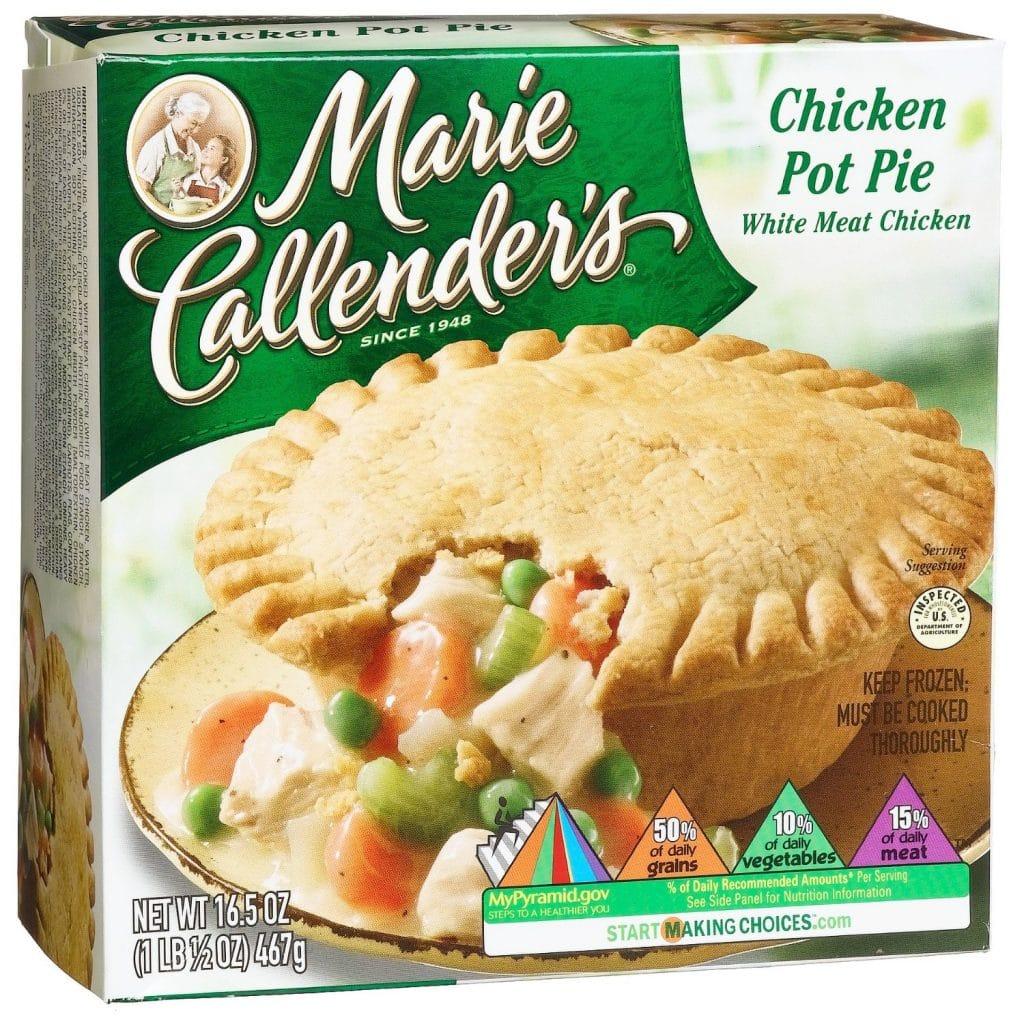 how to cook frozen chicken pie