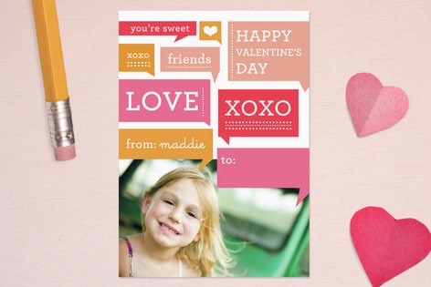 NEW Classroom Valentine's Cards From Minted