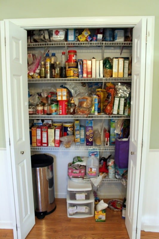 Pantry Organization – Phase 1