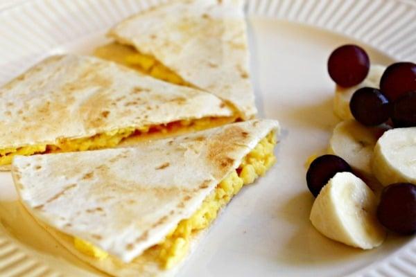 Breakfast Quesadillas - A New Take on Scrambled Eggs & Toast - All ...