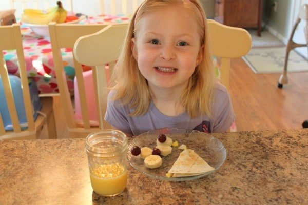 Breakfast Quesadillas – A New Take on Scrambled Eggs & Toast