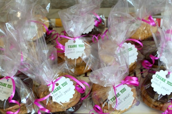 Cookie Treat Bags - School Staff Appreciation Gifts