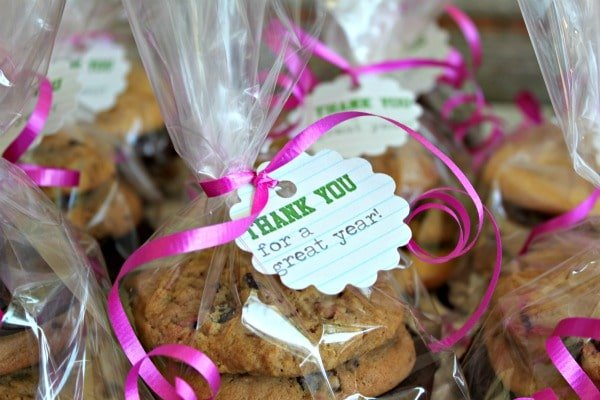 Cookie Treat Bags - School Staff Appreciation Gifts - All Things Mamma