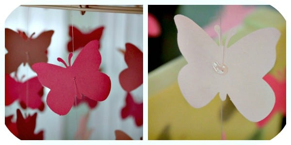 How-To Make A Butterfly Mobile