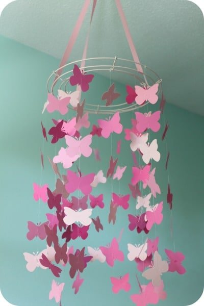 How To Make A Butterfly Mobile All Things Mamma
