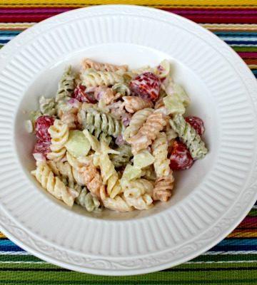 Rainbow Pasta Salad Recipe