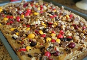 Candy Bar Cookie - Harvest Style