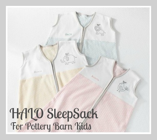New Fall Styles For Halo Sleepsack For Pottery Barn Kids