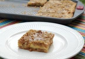 Caramel Apple Cheesecake Bar