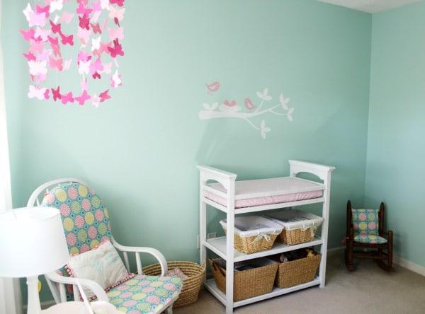A Beautiful Nursery Changing Area