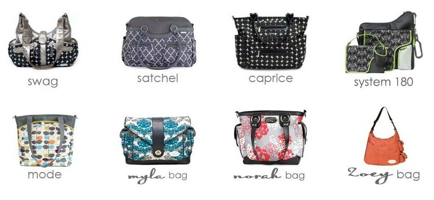 JJ Cole Satchel Diaper Bag Review & Giveaway