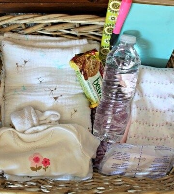 Create A Nursing Basket