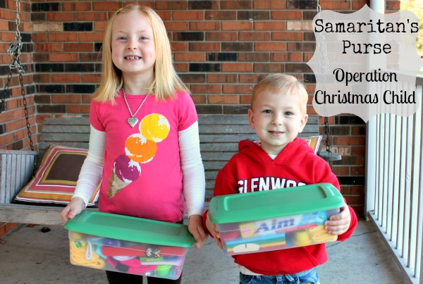 Teach Your Children Compassion with Samaritan's Purse – Operation Christmas Child