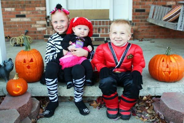 Making Happy Halloween Memories