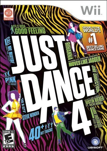 Just Dance 4 – $22.99 TODAY ONLY!