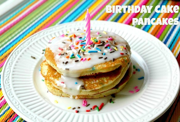 Birthday Cake Pancakes All Things Mamma