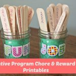 Incentive Program Chore & Reward List - Printables