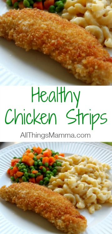 Instead of buying chicken nuggets or strips at the store, make your own! This easy recipe for Healthy Homemade Chicken Nuggets will quickly become a family favorite like it has in our home.