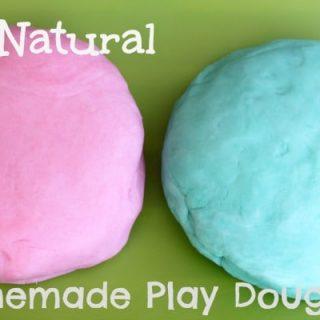 All Natural Play Dough Recipe