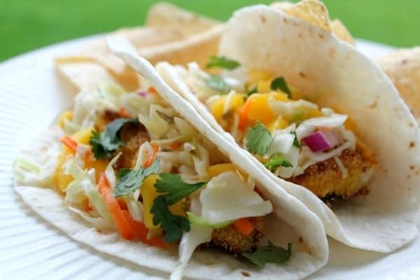 Fish Tacos With Jalapeno Mango Slaw #McCormickTacoNight ...