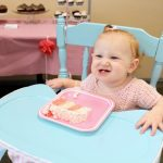 A Pink Ruffled First Birthday Party!