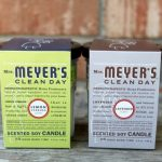Mrs. Meyer's Clean Day NEW Junior Soy Candles {Giveaway}