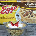 A Healthy After School Snack Created With Eggo Waffles