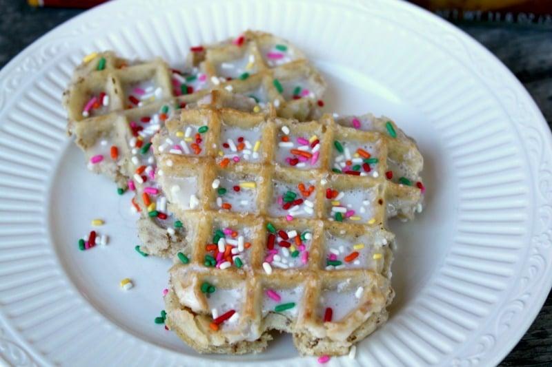 Butterfly-waffle