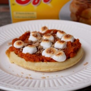 Fall Desserts #EggoWaffleOff