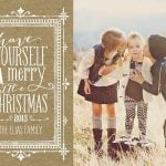 Tiny Prints NEW Holiday Card Designs {Giveaway}