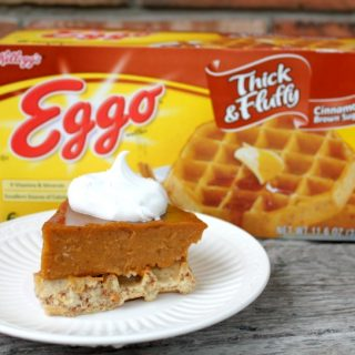 Thanksgiving Waffles #EggoWaffleOff {Giveaway}