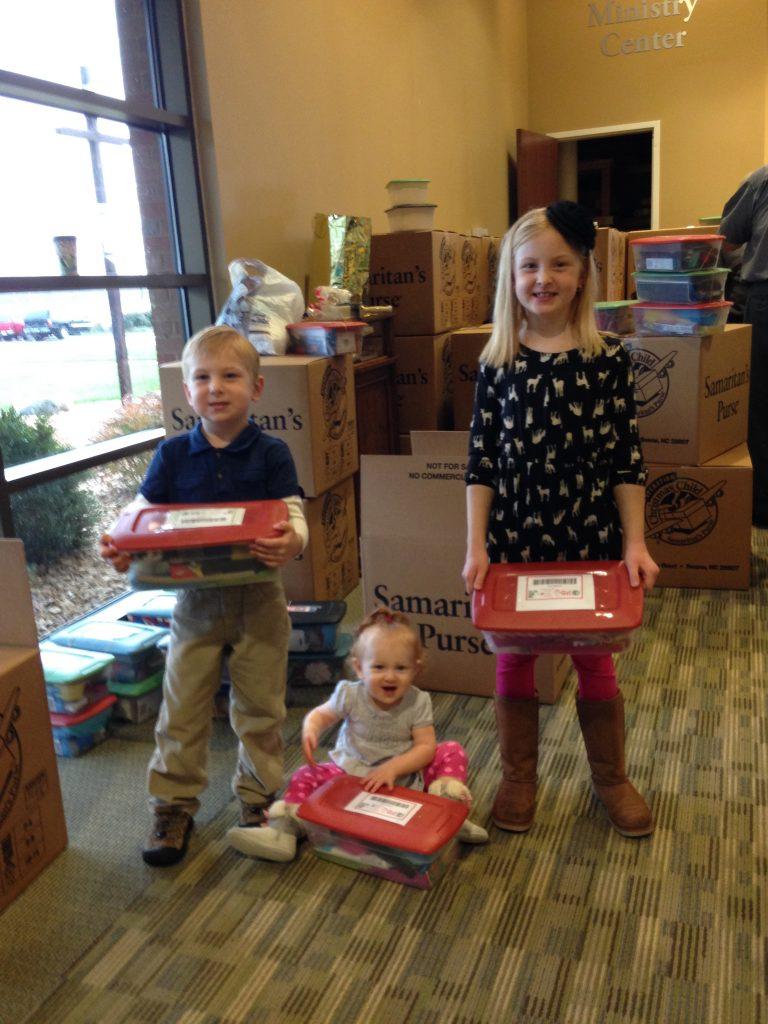 shoebox donation