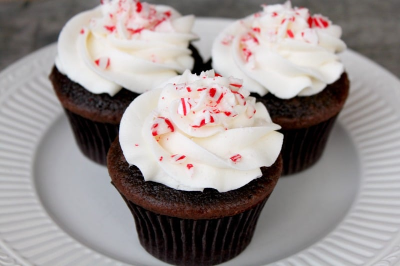 Chocolate Candy Cupcakes Chocolate Candy Cane Cupcakes