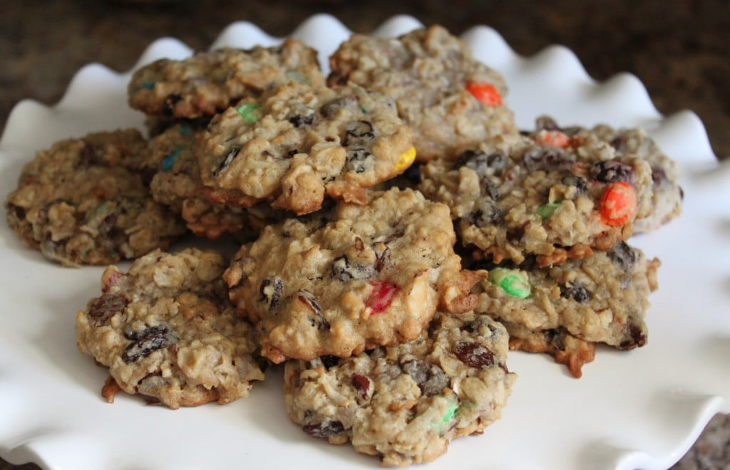Trail Mix Cookies - A healthy after school snack!