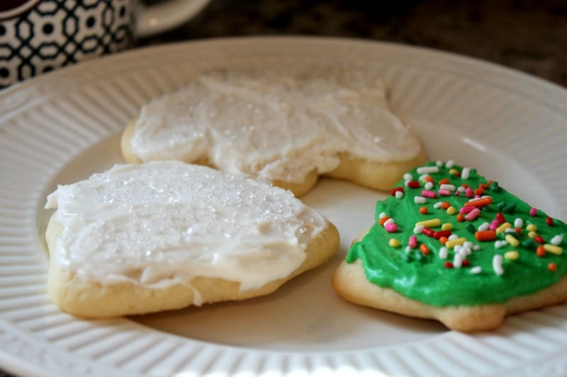 The VERY BEST Rolled Sugar Cookie Recipe AND Frosting