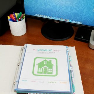 Household Management Binder – With FREE Printables