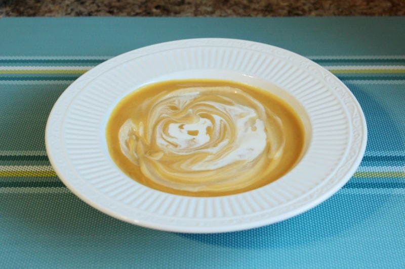 Warm up with rich and creamy - Butternut Squash Soup