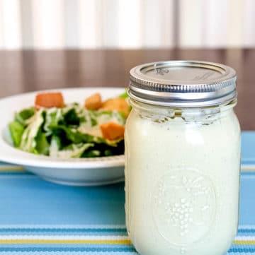 Classic Caesar Salad Dressing